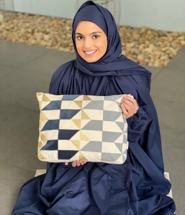 SCARFE PRAYER SET - NAVY