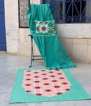 طقم صلاة مغربي - اخضر