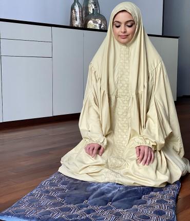 VELVET PRAYER SET - BLUE