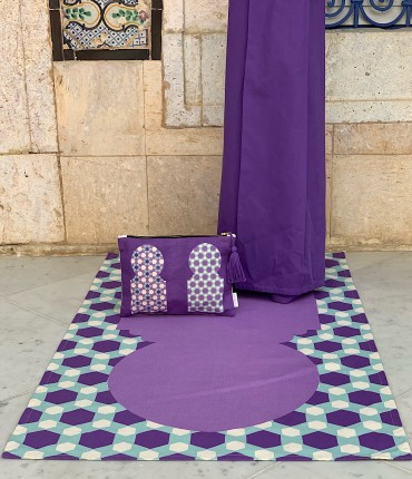 MOROCCAN TRAVEL SET - PURPLE