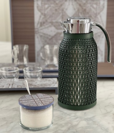 LARGE THERMOS - GREEN