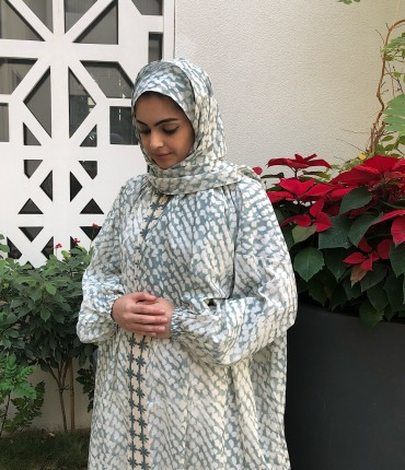 SCARF PRAYER SET - GRAY