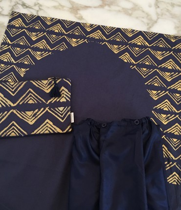 SKIRT TRAVEL SET - NAVY