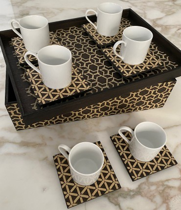 TURKISH COFFEE SET OF 6