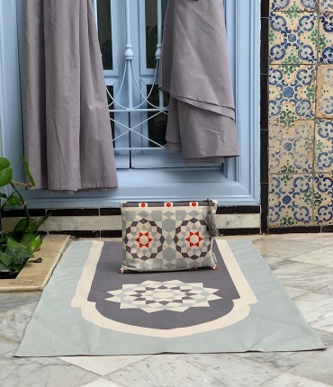 MOROCCAN KHEMAR SET - GRAY