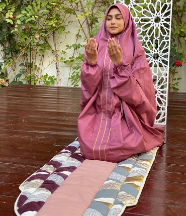 PRAYER POCKET SET - MAROON
