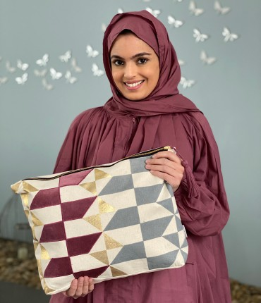 SCARFE PRAYER SET - MAROON