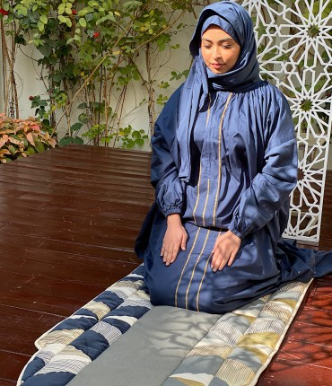 SCARF PRAYER POCKET SET - NAVY