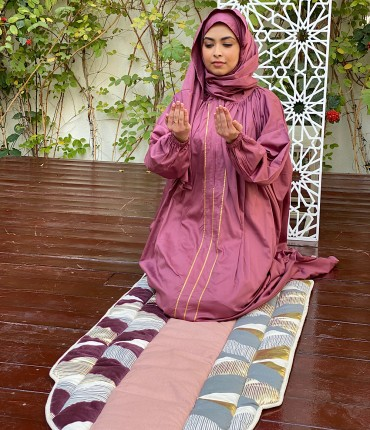 SCARF PRAYER POCKET SET - MAROON