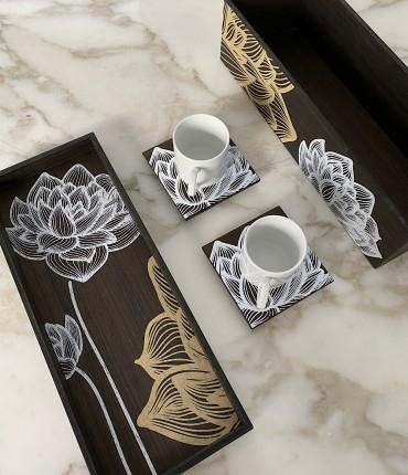 طقم قهوة تركية -