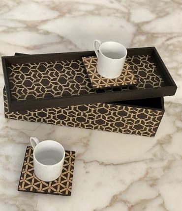 TURKISH COFFEE SET OF 2 -
