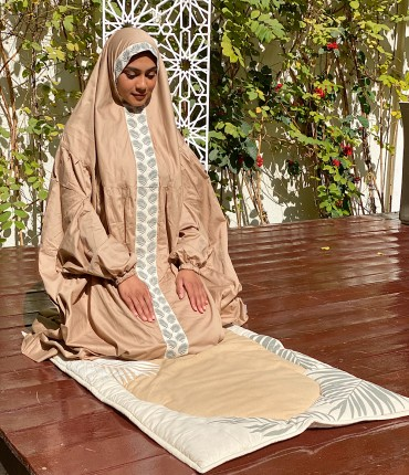PRAYER SET - PALM - BEIGE