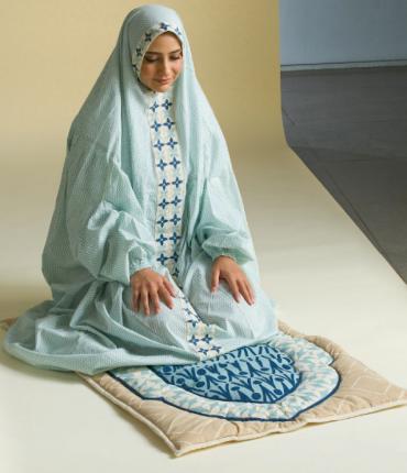 MOTHER PRAYER SET - BLUE