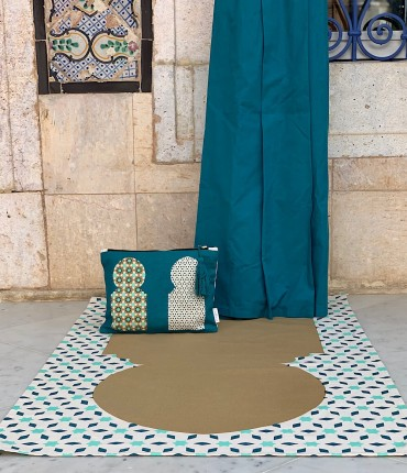 MOROCCAN TRAVEL SET - BLUE