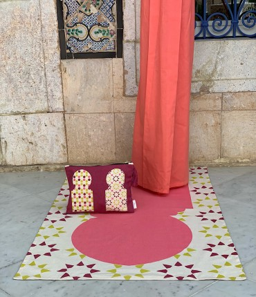 MOROCCAN TRAVEL SET - PINK