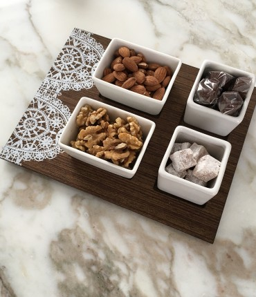 NUTS TRAY LACE